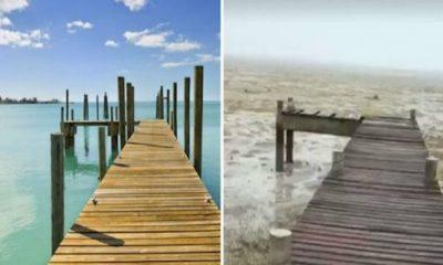 ¿Por qué desapareció el mar en Las Bahamas?