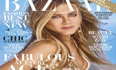 Jennifer Aniston en Harper's Bazaar
