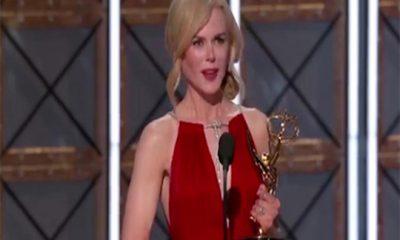 Nicole Kidman y la crítica por su discurso en los Emmys