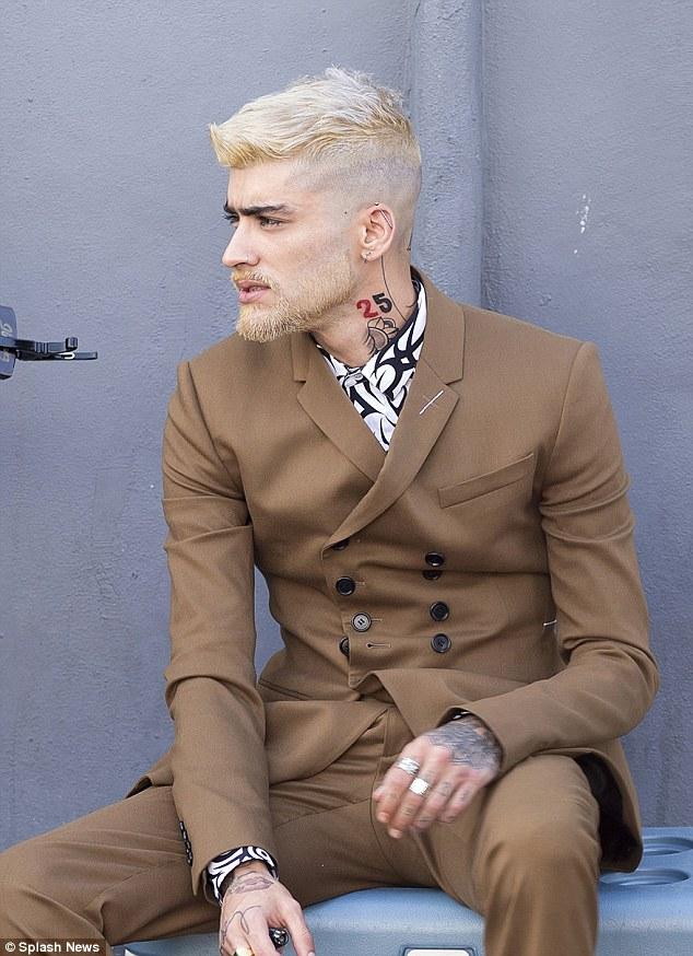 Cambio de look de Zayn Malik