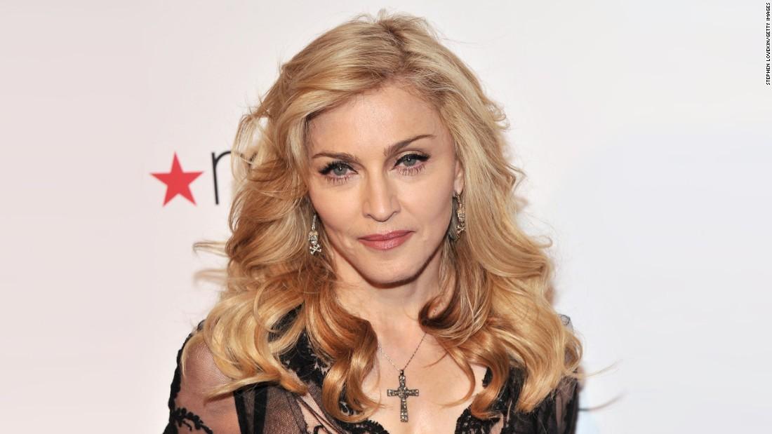Madonna, la  reina del pop