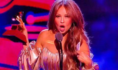 Abuchearon a Thalía en los Latin Grammys por culpa de Luis Miguel