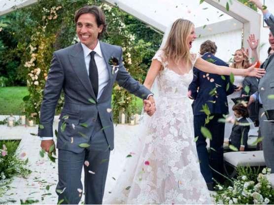 Gwyneth Paltrow publicó fotos de su matrimonio