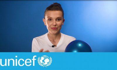 Millie Bobby Brown, nueva embajadora de Unicef