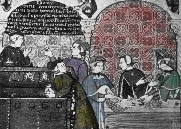¿Sabías que los caballeros templarios fueron los primeros banqueros