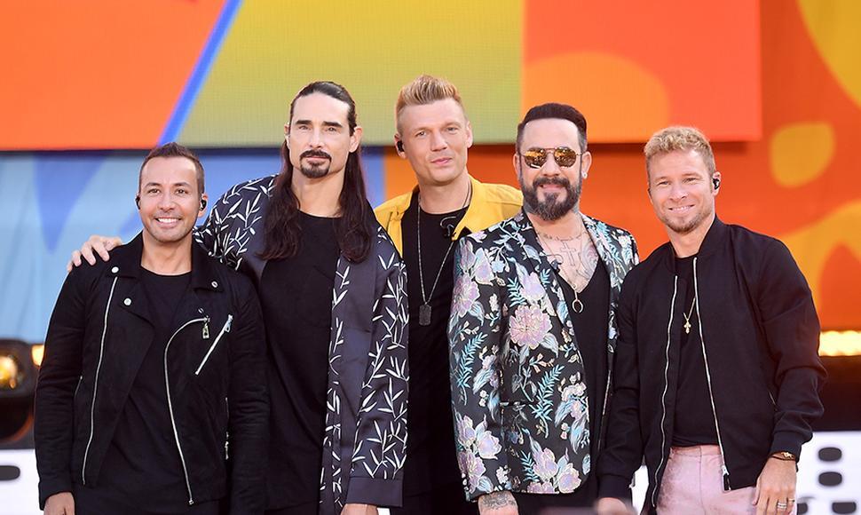 Backstreet Boys en familia