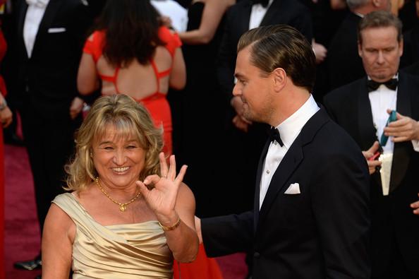 El espectáculo de la madre de Leonardo DiCaprio