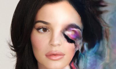 Kylie Jenner y su novedoso make up