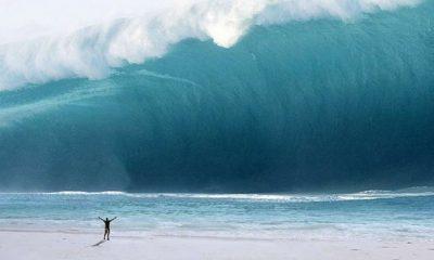 ¿Sabías que alguien surfeó una ola de 24 metros