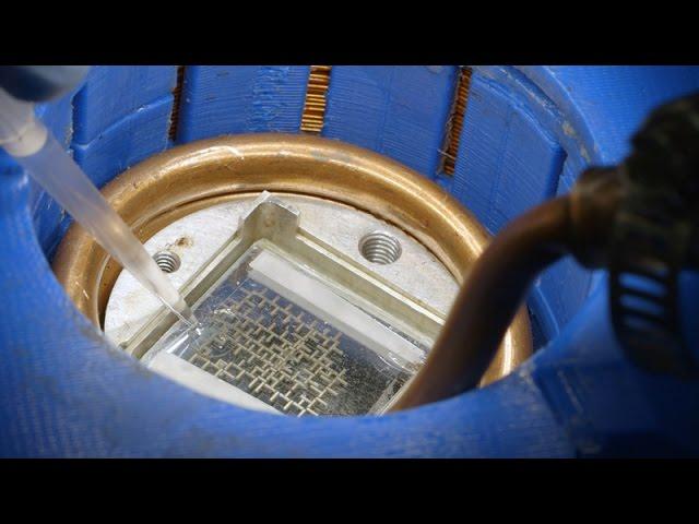 ¿Sabías que hay un ordenador que funciona con gotas de agua?
