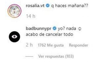 Bad Bunny y Rosalía ¿Romance real