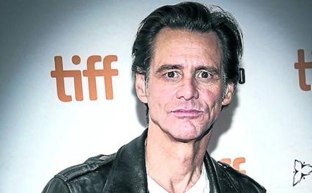 Jim Carrey luce irreconocible