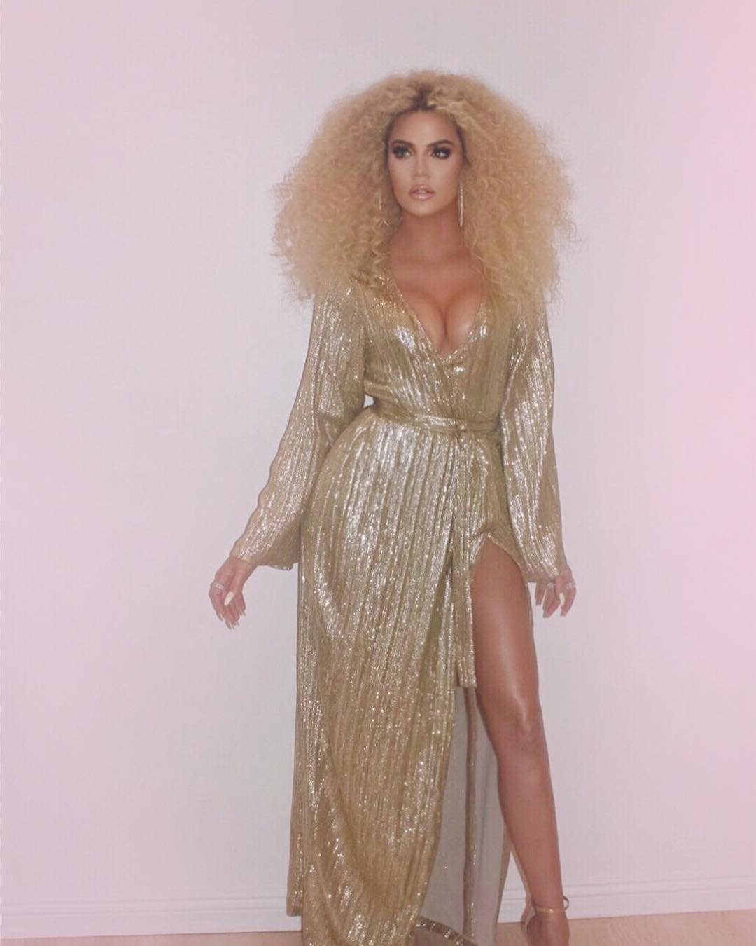 Khloé Kardashian y su error de Photoshop