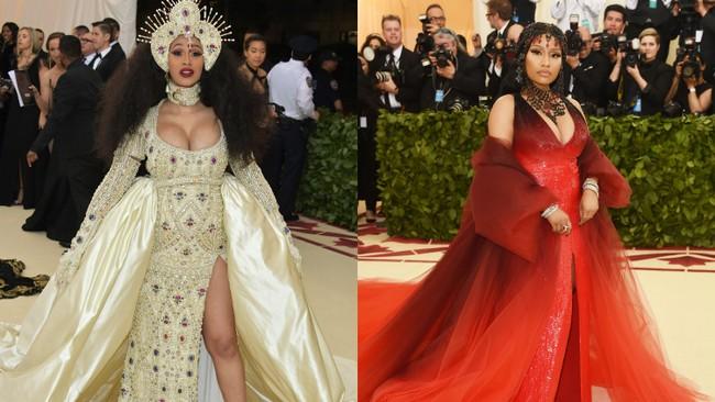 Cardi B y Nicki Minaj juntas otra vez