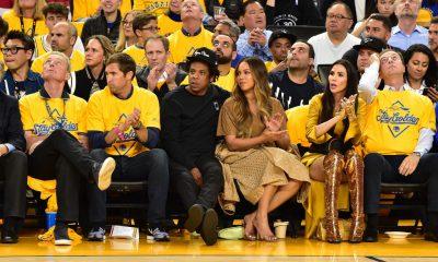 Beyoncé empujó a mujer que le habló a Jay Z