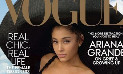 Ariana Grande llegó a Vogue