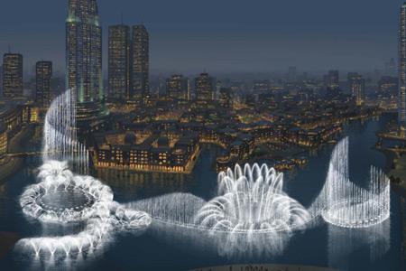 ¿Sabías que la fuente más grande está en Dubai?