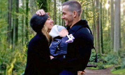 Blake Lively y Ryan Reynolds mostraron a su tercer hijo