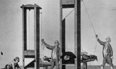 ¿Sabías que guillotina viene de su promotor Guillotin?