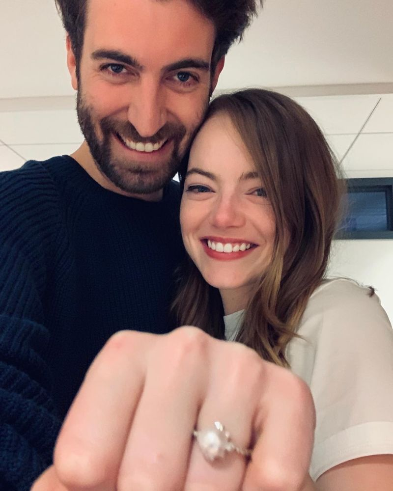 Conoce al prometido de Emma Stone