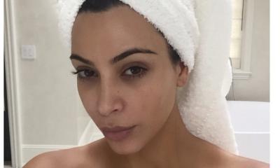 Kim Kardashian viste sensual conjunto ¡de toalla!