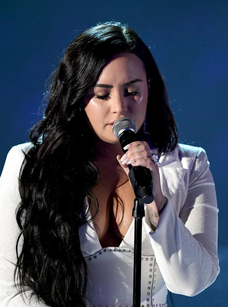 Demi Lovato regresó a los escenarios