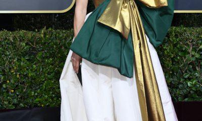 El comentado look de Jennifer Lopez en los Globos de Oro