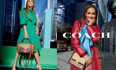 Jennifer Lopez es el nuevo rostro de Coach