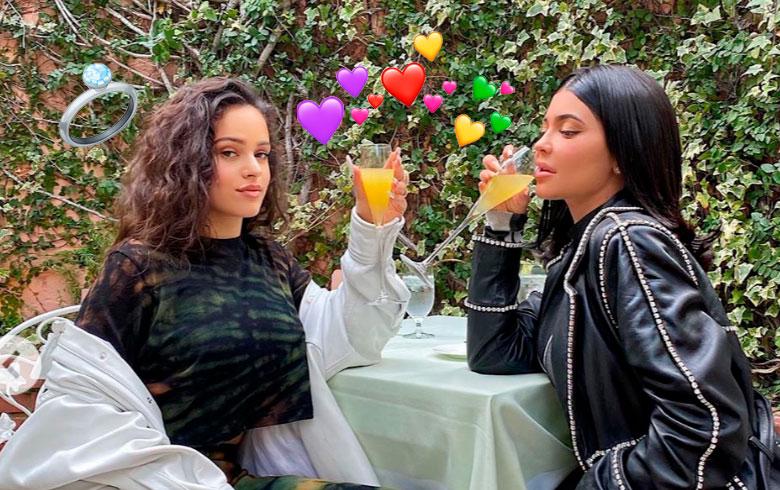 Kylie Jenner le pidió matrimonio a la Rosalía