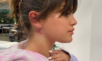 Selena Gomez mostró su nuevo tatuaje