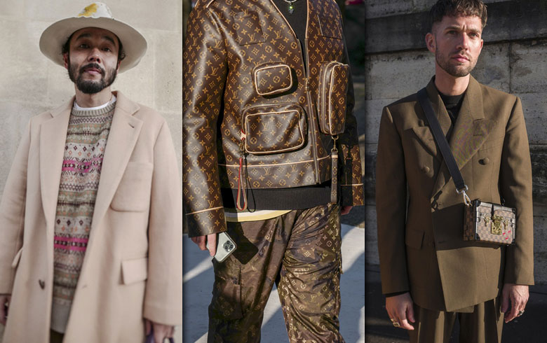 Tendencias de la calle en la semana de la moda masculina de París
