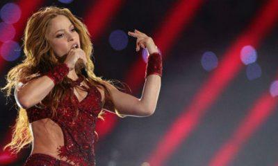 Shakira se lució en su presentación en el Super Bowl
