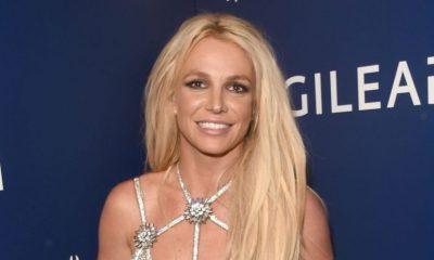 Britney Spears se fracturó y publicó el momento en Instagram