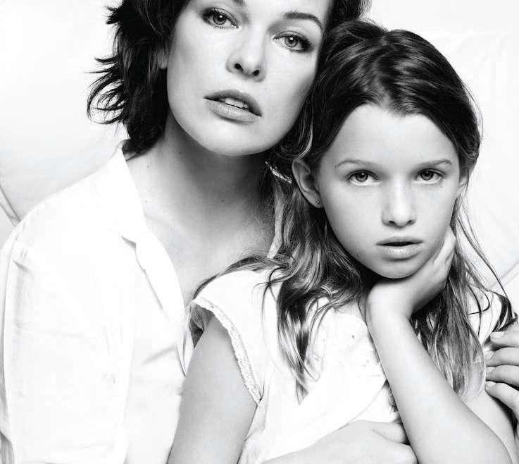 Hija de Milla Jovovich será Wendy en Peter Pan