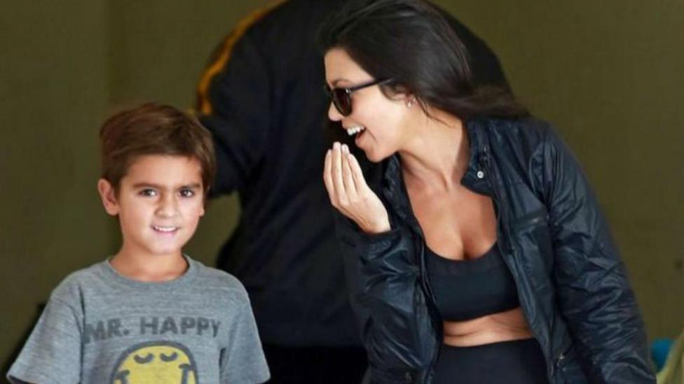 Kourtney Kardashian descubrió Instagram de su hijo y lo borró