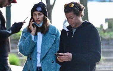 Irina Shayk se luce con nuevo galán en plena cuarentena