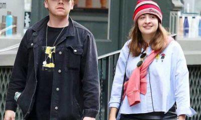 Rupert Grint y su novia Georgia Groome serán padres