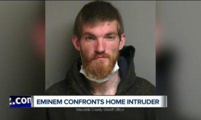 Eminem detuvo a intruso que entró en su casa