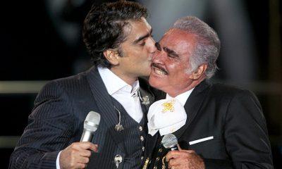 ¡Alejandro y Vicente Fernández lanzaron canción juntos!
