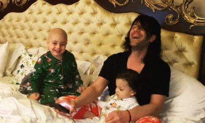 Criss Angel anunció que su hijo tiene cáncer