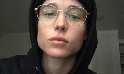 Elliot Page y su primera foto tras declararse transgénero