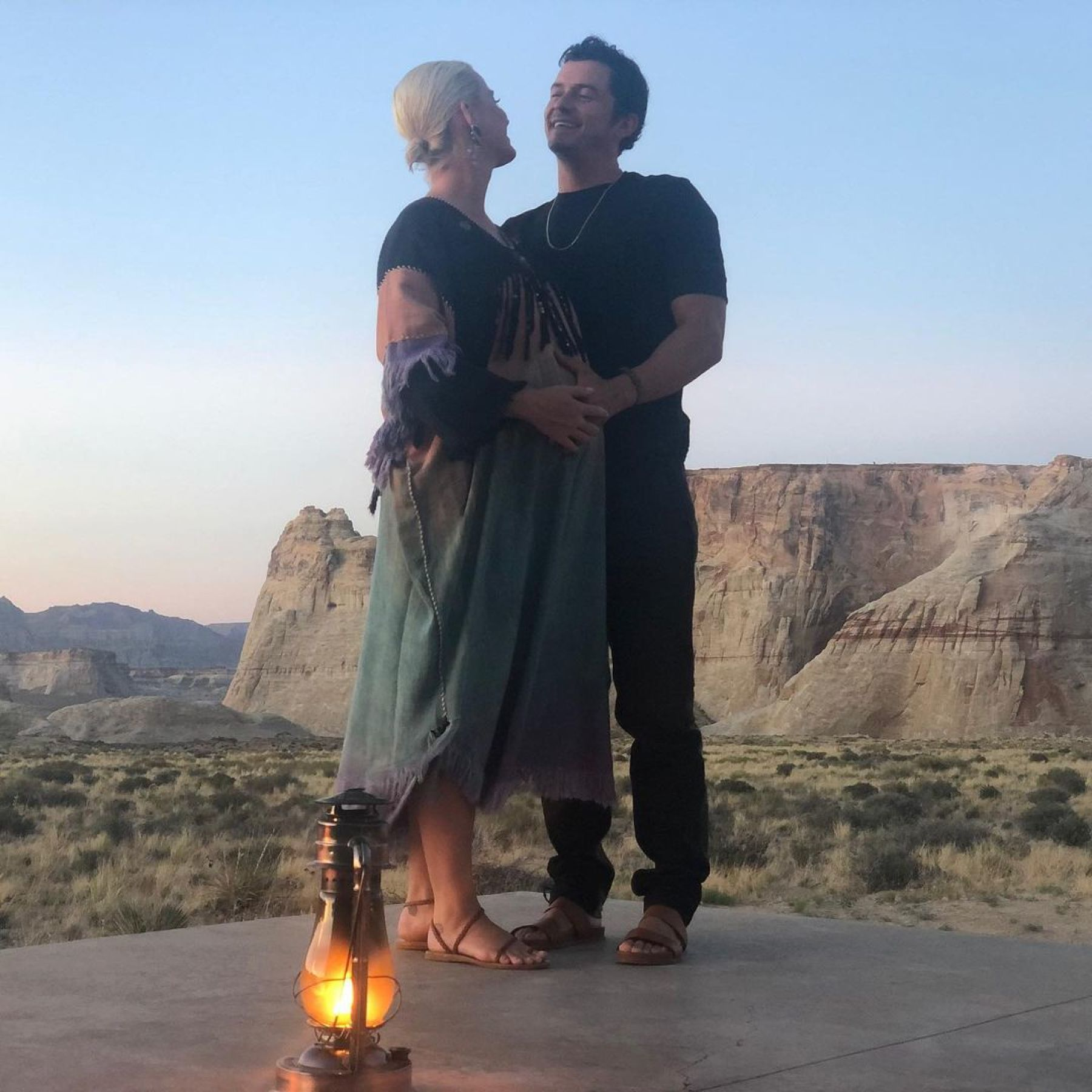 Katy Perry celebró los 44 de Orlando Bloom con fotos inéditas